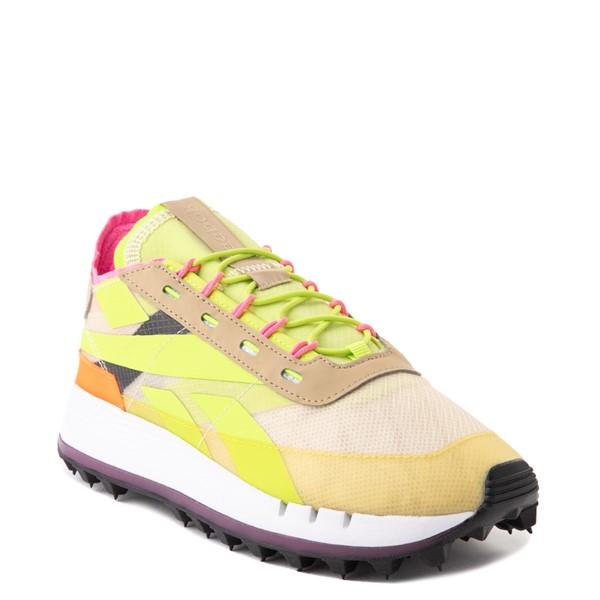 alternate view Womens Reebok Classic Legacy 83 Athletic Shoe - Alabaster / Utility Yellow / Solar OrangeALT5