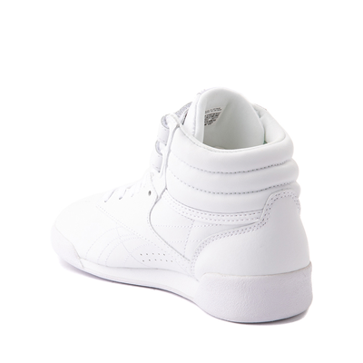Alternate view of Reebok Freestyle Hi Athletic Shoe - Little Kid - White