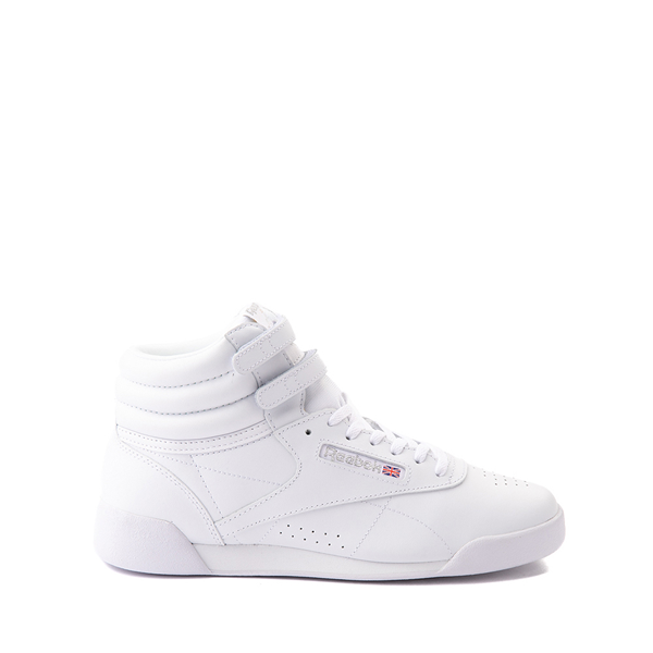 Main view of Reebok Freestyle Hi Athletic Shoe - Big Kid - White