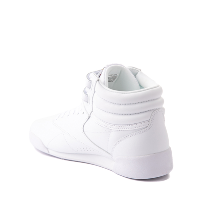 Alternate view of Reebok Freestyle Hi Athletic Shoe - Big Kid - White