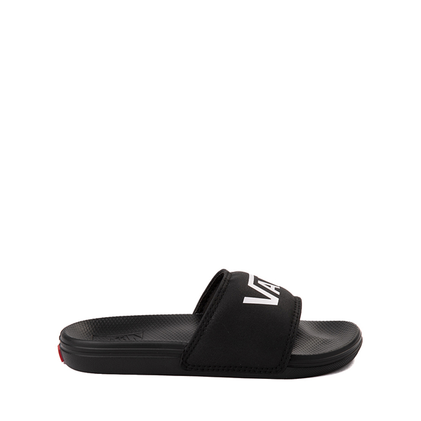 Main view of Vans La Costa Slide On Sandal - Little Kid / Big Kid - Black