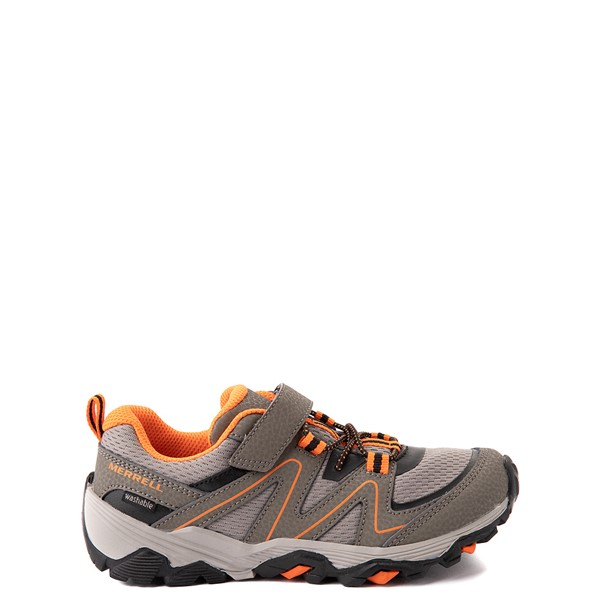Main view of Merrell Trail Quest Athletic Shoe - Little Kid / Big Kid - Smoke