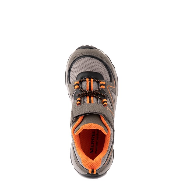 alternate view Merrell Trail Quest Athletic Shoe - Little Kid / Big Kid - SmokeALT2