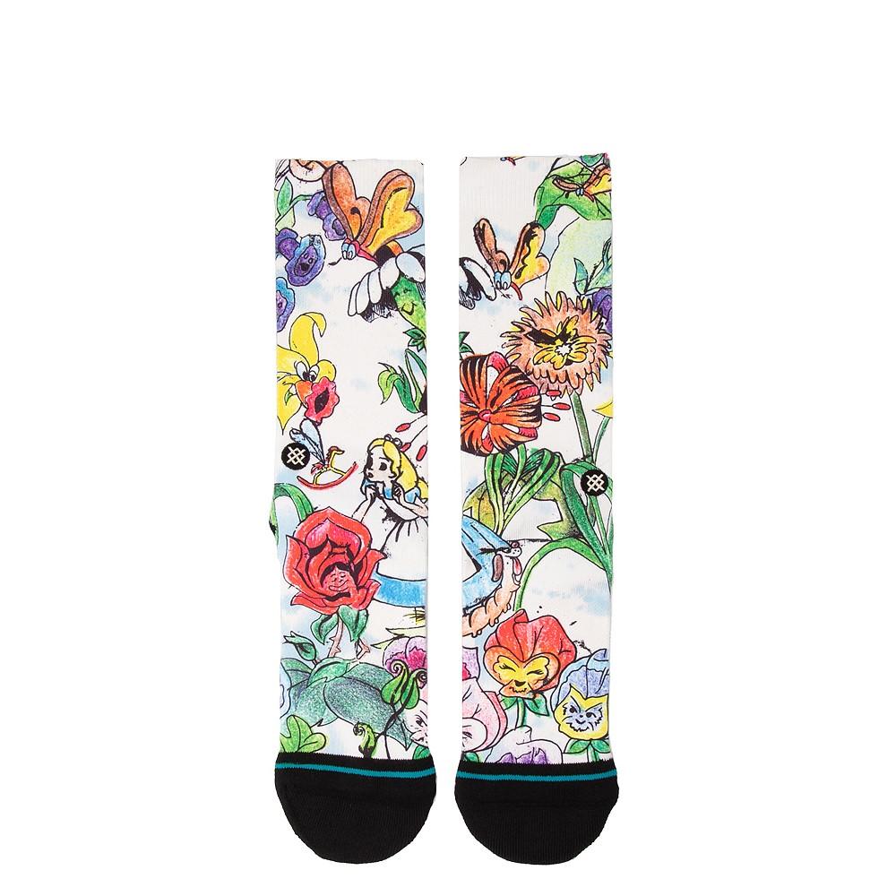 Mens Stance Alice In Wonderland Crew Socks - Multicolor