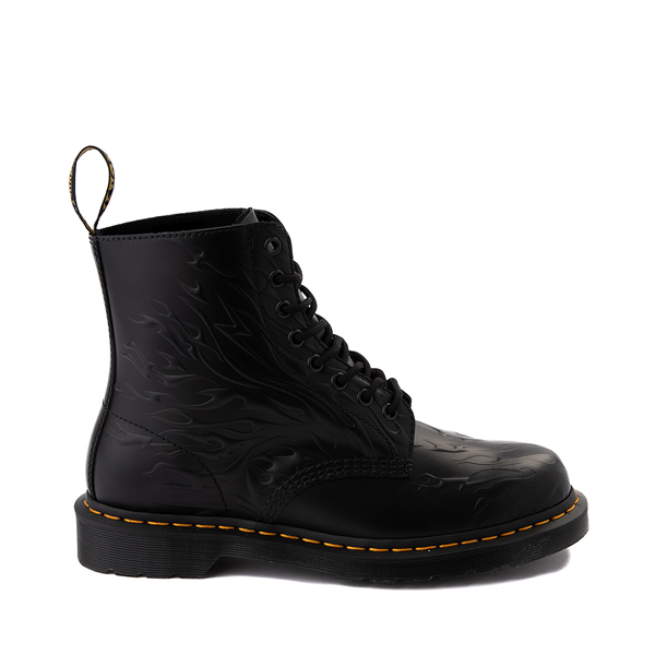 Main view of Dr. Martens 1460 8-Eye Flame Boot - Black