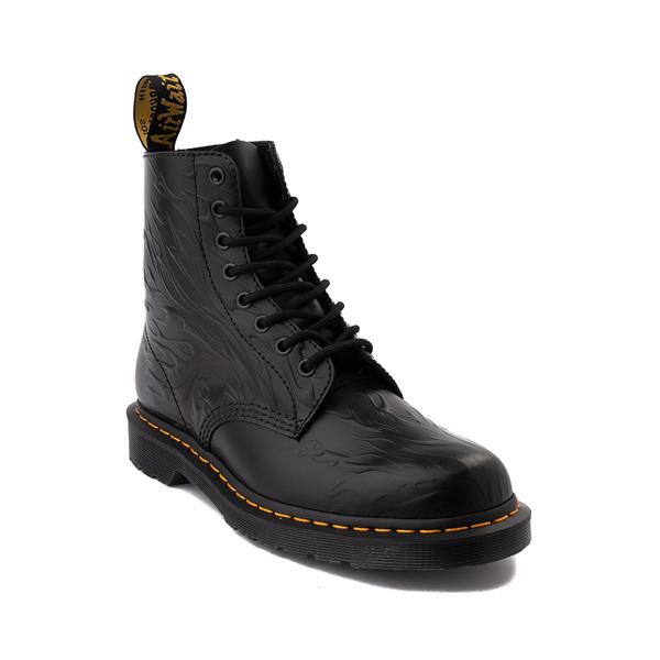 alternate view Dr. Martens 1460 8-Eye Flame Boot - BlackALT5