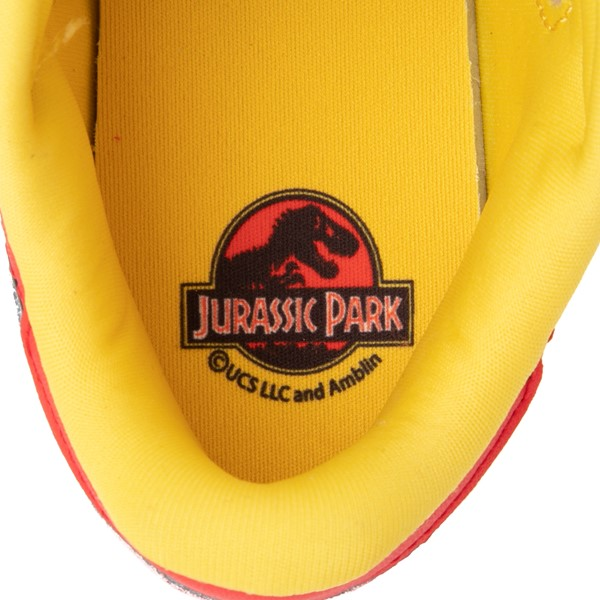 alternate view Reebok x Jurassic Park Classic Leather Athletic Shoe - Big Kid - RedALT2B