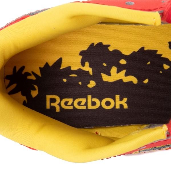 alternate view Reebok x Jurassic Park Classic Leather Athletic Shoe - Big Kid - RedALT2C