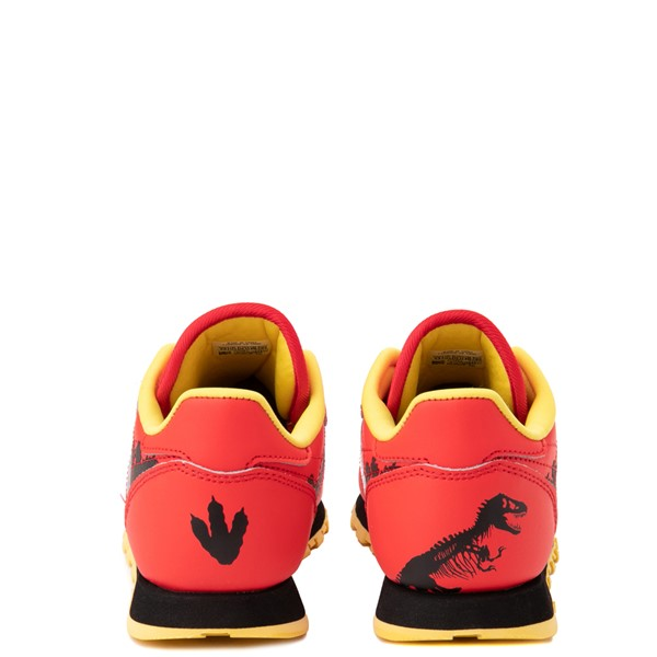 alternate view Reebok x Jurassic Park Classic Leather Athletic Shoe - Big Kid - RedALT4