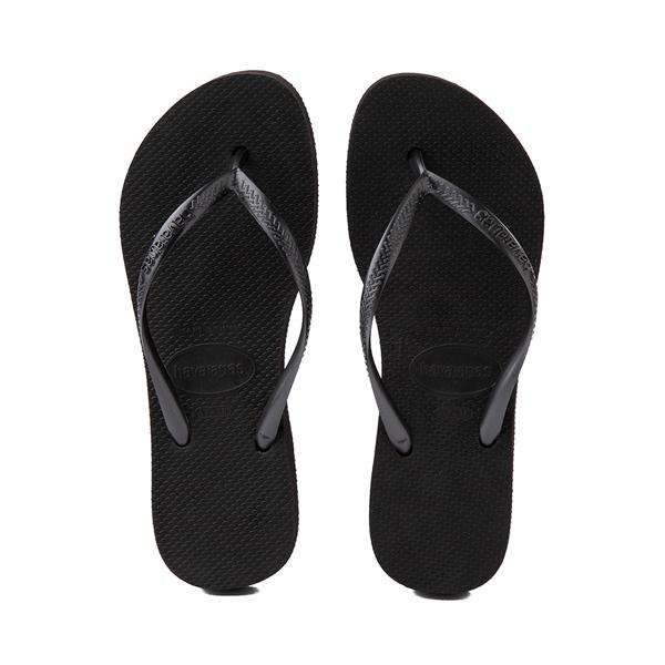 alternate view Womens Havaianas Slim Flatform Sandal - BlackALT1