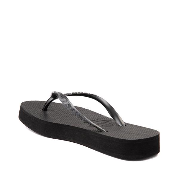 alternate view Womens Havaianas Slim Flatform Sandal - BlackALT1B