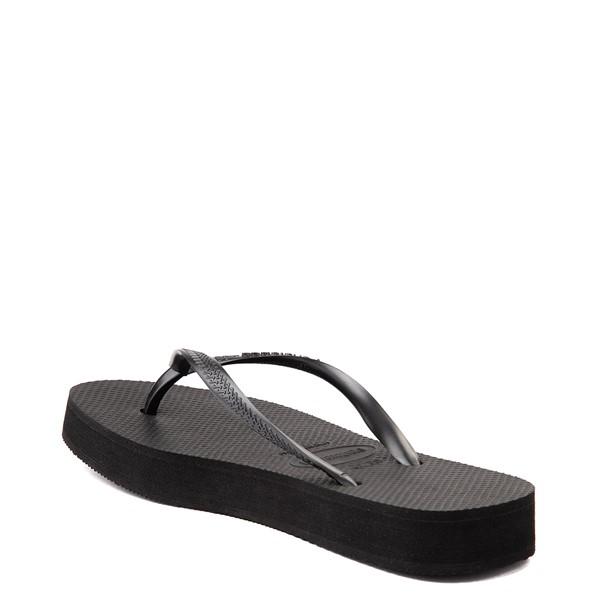 alternate view Womens Havaianas Slim Flatform Sandal - BlackALT2