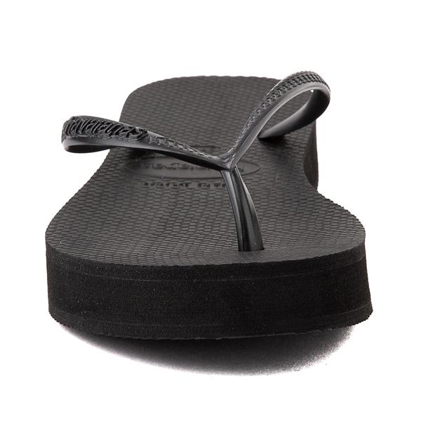 alternate view Womens Havaianas Slim Flatform Sandal - BlackALT4