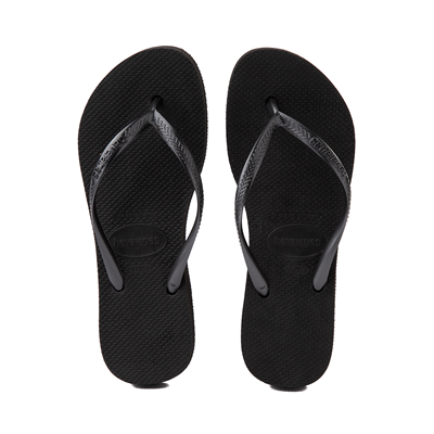 Alternate view of Womens Havaianas Slim Flatform Sandal - Black