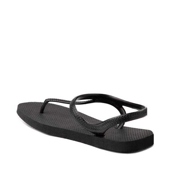 alternate view Womens Havaianas Flash Urban Sandal - BlackALT2