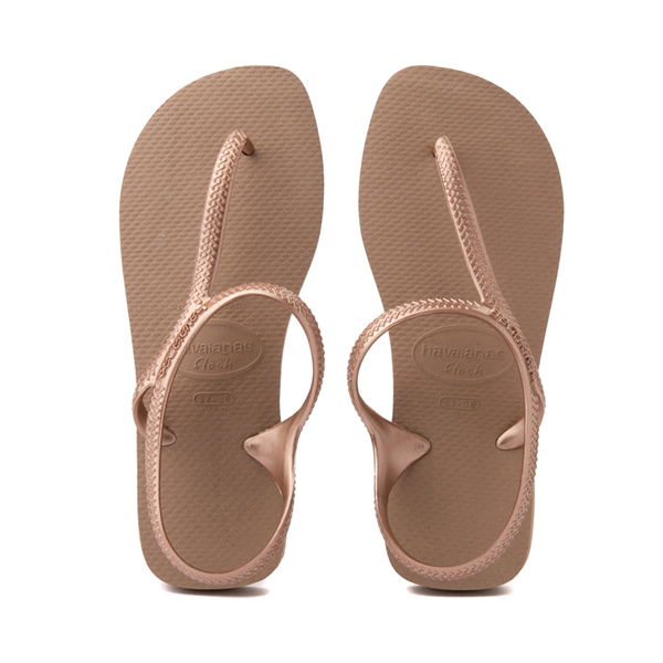 Womens Havaianas Flash Urban Sandal - Rose Gold