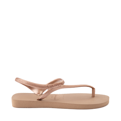 Alternate view of Womens Havaianas Flash Urban Sandal - Rose Gold