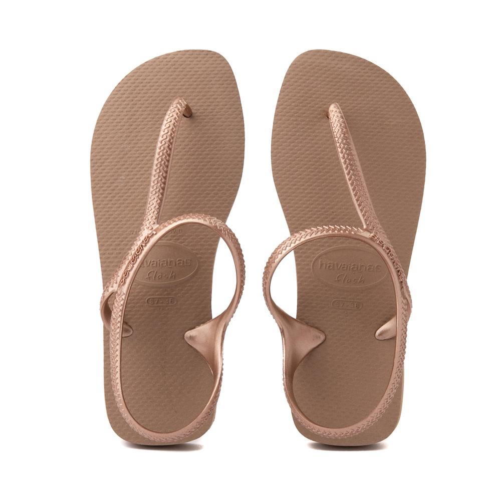 Womens Havaianas Flash Urban Sandal - Rose Gold