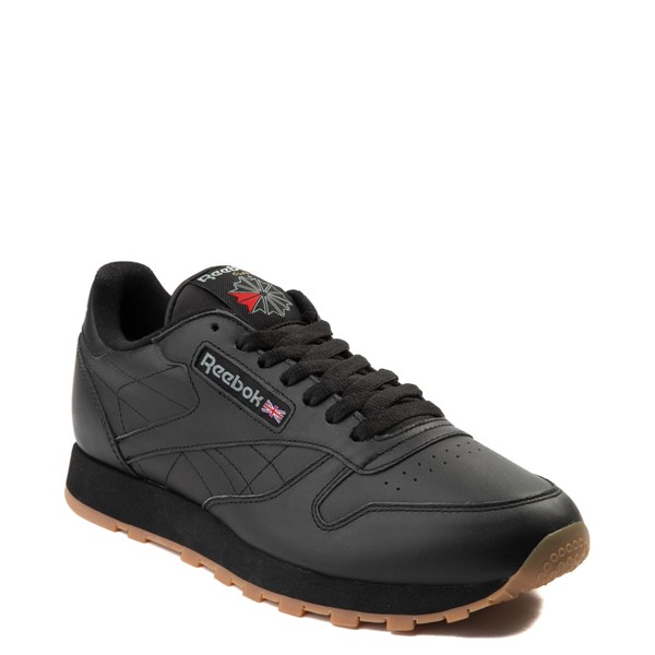 alternate view Mens Reebok Classic Athletic Shoe - Black / GumALT5