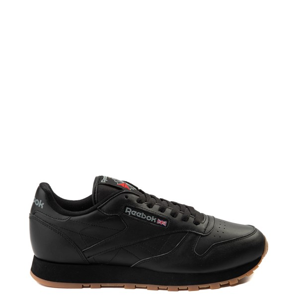 Main view of Mens Reebok Classic Athletic Shoe - Black / Gum