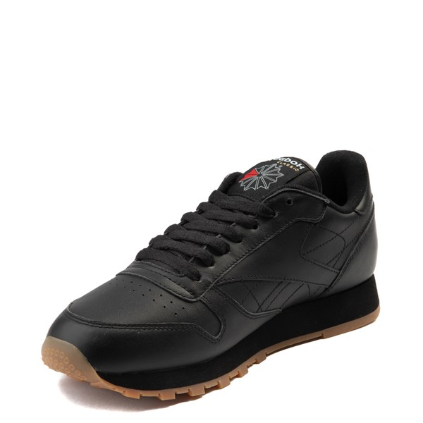alternate view Mens Reebok Classic Athletic Shoe - Black / GumALT3