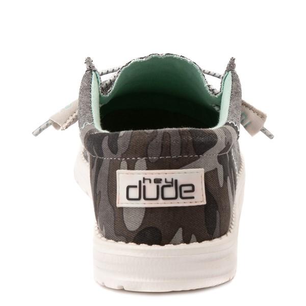 alternate view Mens Hey Dude Wally Funk Casual Shoe - Brown / CamoALT4