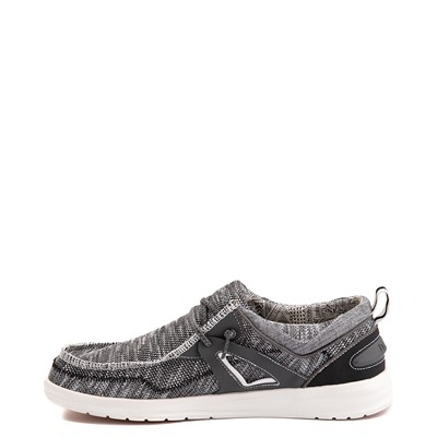 Alternate view of Mens Hey Dude Wally Funk Casual Shoe - Storm / Black