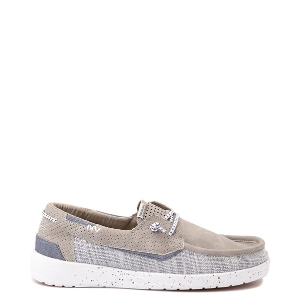 Main view of Mens Hey Dude Welsh Slip On Casual Shoe - Oyster