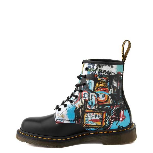 alternate view Dr. Martens x Basquiat 1460 8-Eye Boot - Black / MulticolorALT1