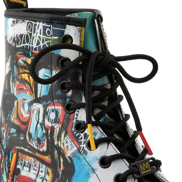 alternate view Dr. Martens x Basquiat 1460 8-Eye Boot - Black / MulticolorALT1C
