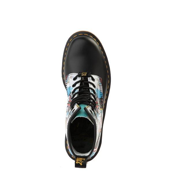 alternate view Dr. Martens x Basquiat 1460 8-Eye Boot - Black / MulticolorALT2