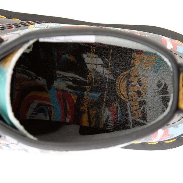 alternate view Dr. Martens x Basquiat 1460 8-Eye Boot - Black / MulticolorALT2B