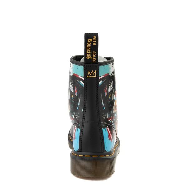 alternate view Dr. Martens x Basquiat 1460 8-Eye Boot - Black / MulticolorALT4