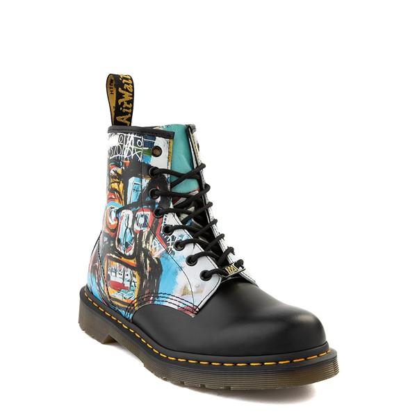 alternate view Dr. Martens x Basquiat 1460 8-Eye Boot - Black / MulticolorALT5