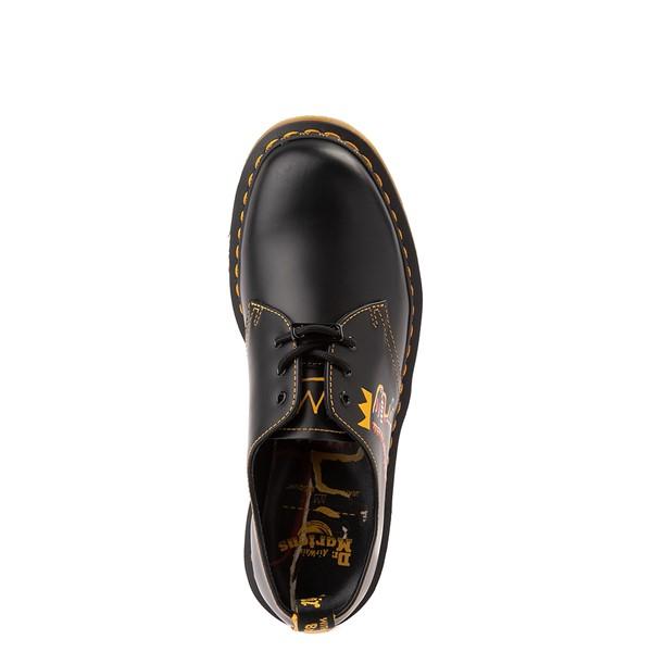 alternate view Dr. Martens x Basquiat 1461 Casual Shoe - Black / MulticolorALT2