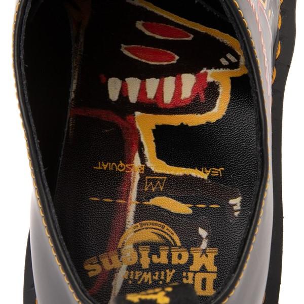 alternate view Dr. Martens x Basquiat 1461 Casual Shoe - Black / MulticolorALT2B