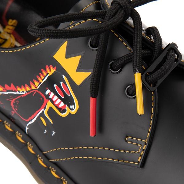 alternate view Dr. Martens x Basquiat 1461 Casual Shoe - Black / MulticolorALT2C