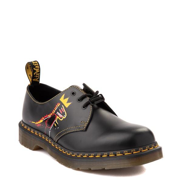 alternate view Dr. Martens x Basquiat 1461 Casual Shoe - Black / MulticolorALT5