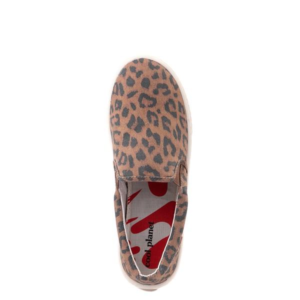 alternate view Womens Cool Planet by Steve Madden Maisy Casual Shoe - LeopardALT4B