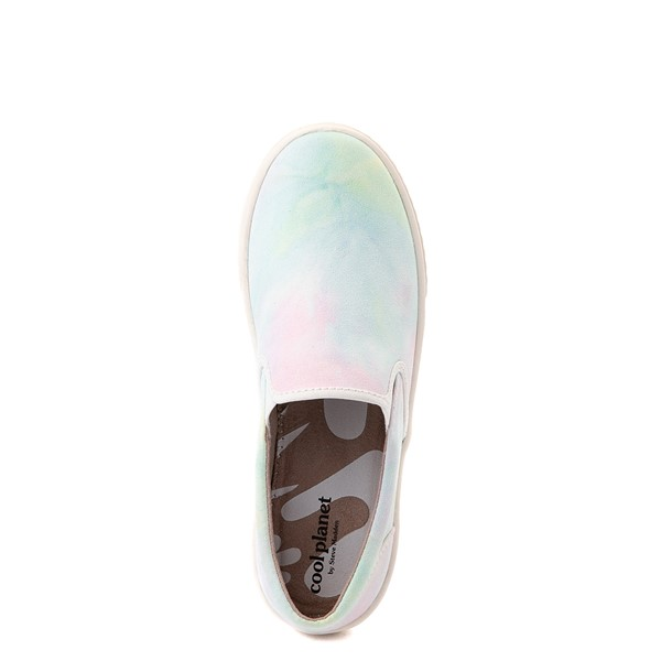 alternate view Womens Cool Planet by Steve Madden Maisy Casual Shoe - Pink / Tie DyeALT2