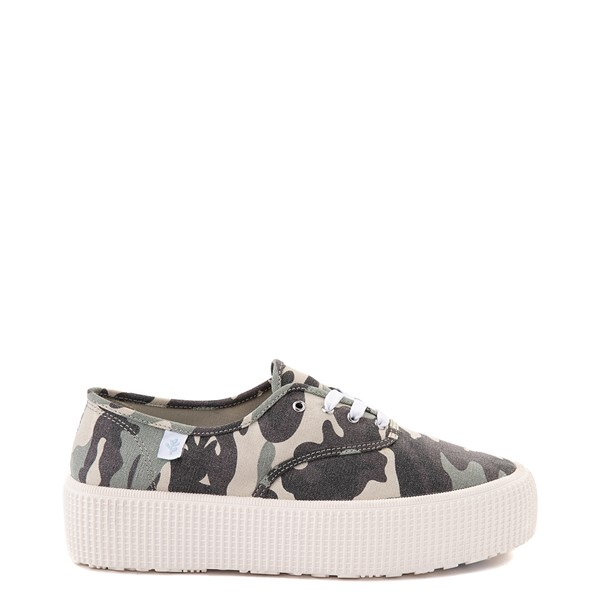 Main view of Womens Cool Planet by Steve Madden Stream Platform Casual Shoe - Camo