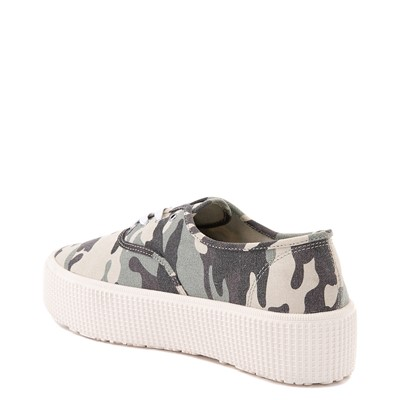 Alternate view of Womens Cool Planet by Steve Madden Stream Platform Casual Shoe - Camo