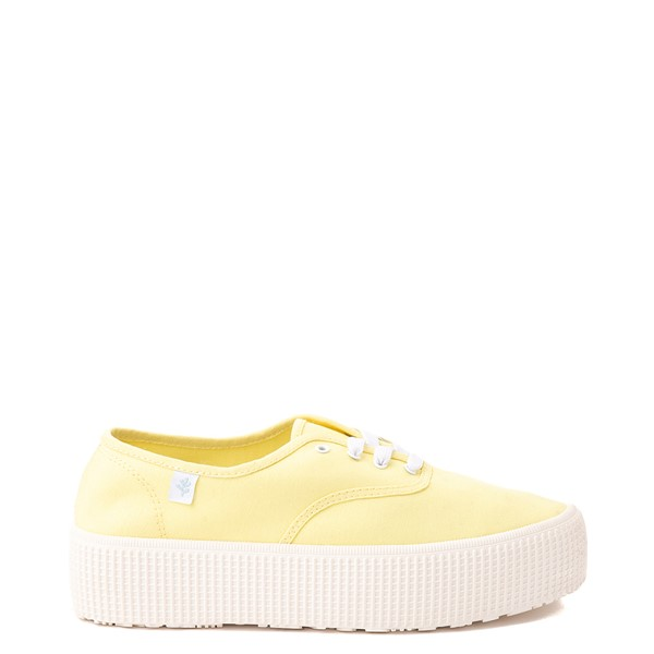 Main view of Womens Cool Planet by Steve Madden Stream Platform Casual Shoe - Yellow