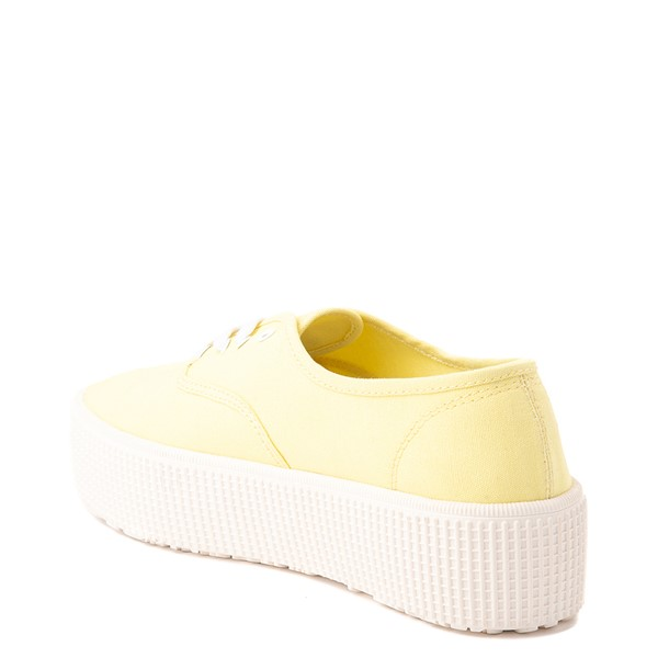 alternate view Womens Cool Planet by Steve Madden Stream Platform Casual Shoe - YellowALT1
