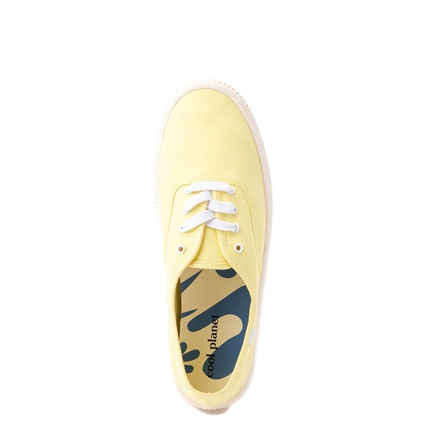 alternate view Womens Cool Planet by Steve Madden Stream Platform Casual Shoe - YellowALT2