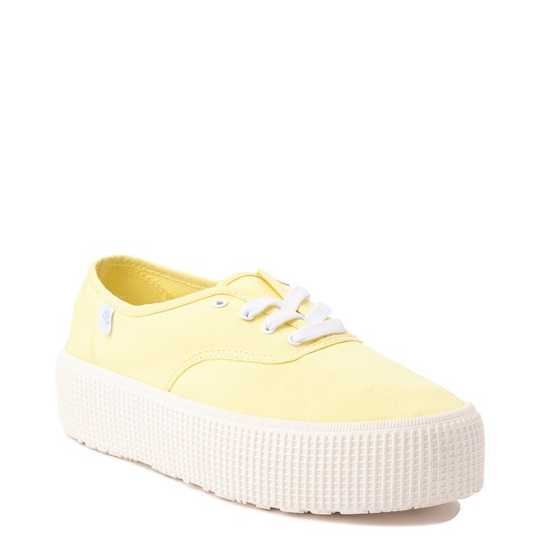 alternate view Womens Cool Planet by Steve Madden Stream Platform Casual Shoe - YellowALT5