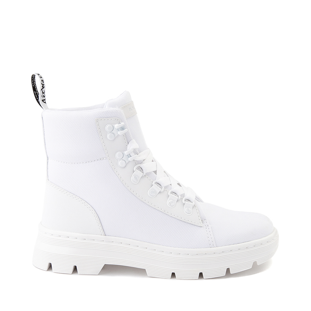 Womens Dr. Martens Combs Boot - White
