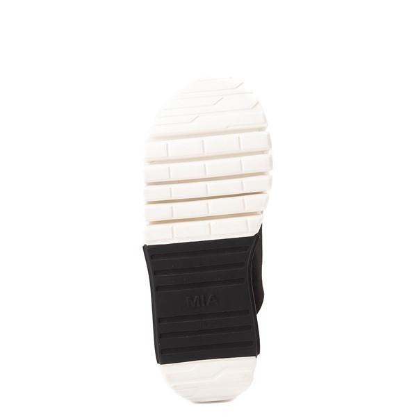 alternate view Womens MIA Amilia Platform Sandal - Black / SnakeskinALT3
