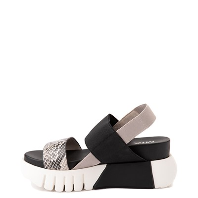 Alternate view of Womens MIA Amilia Platform Sandal - Black / Snakeskin