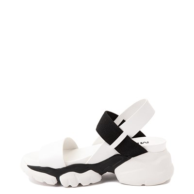 Alternate view of Womens MIA Ariah Platform Sandal - Black / White